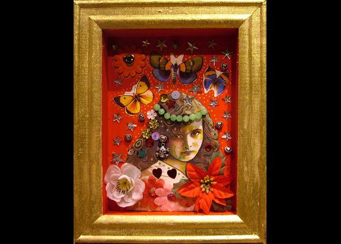 Kaz The Artist - Girl with Butterflies 1