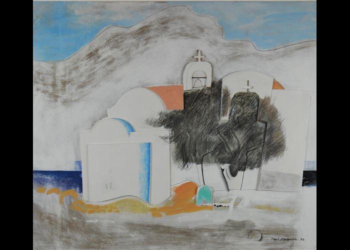 Paul Stevenson - Chapel by the Sea, Crete