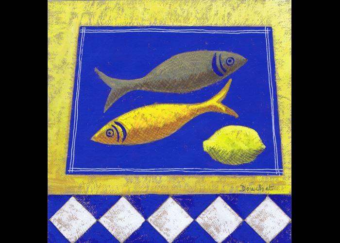 Danielle Douchet - Two Fish and Lemon