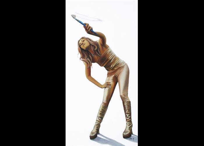 Beka Smith - Painting Girl
