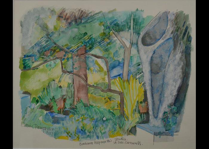 Elaine Pamphilon - Barbara Hepworth's Studio St Ives Cornwall