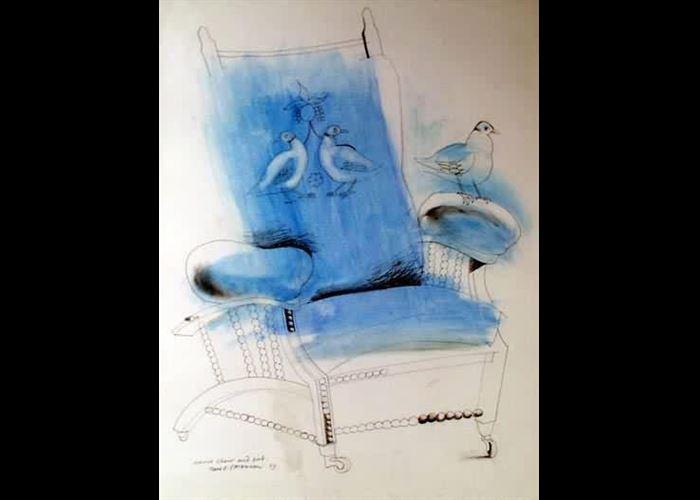Paul Stevenson - Morris Chair and Bird