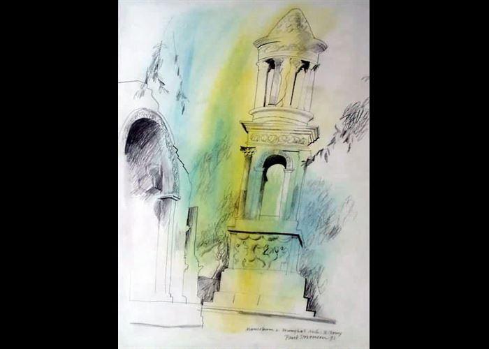Paul Stevenson - Mausoleum and Arch