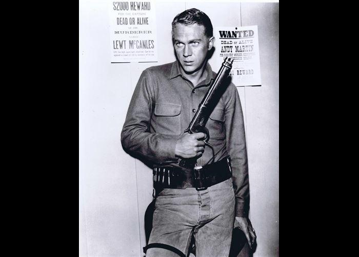 Mr(s). Unknown - Steve McQueen with Gun