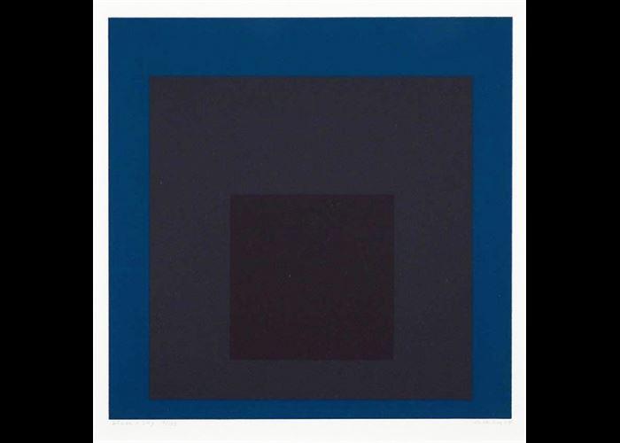 Josef Albers - Slate and Sky