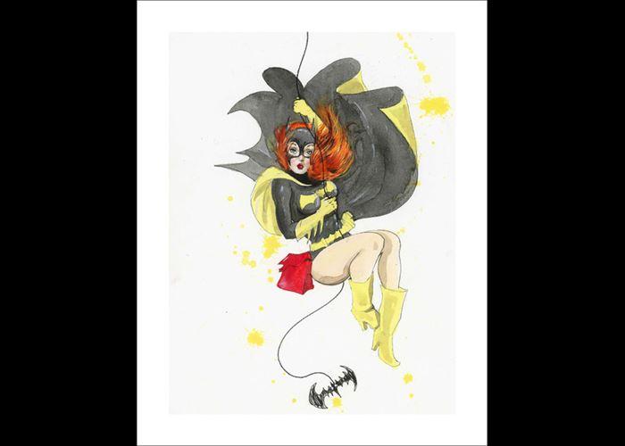 Lora Zombie - Batgirl